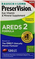 120 Softgels Eye Vitamin And Mineral Supplement, Vision Health Areds 2 Formula on sale