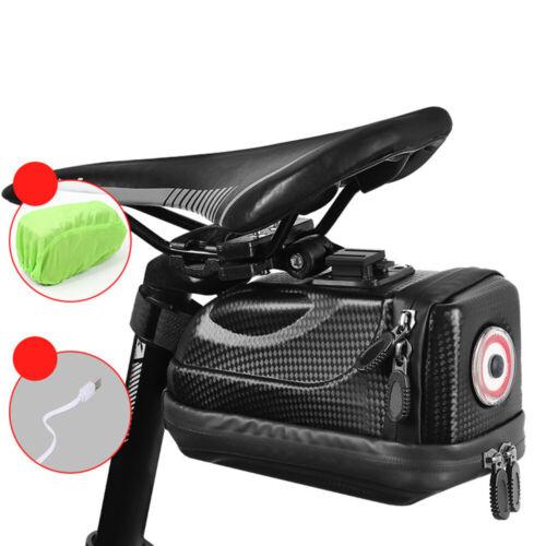 Fahrradhecktasche Fahrradsatteltasche Tasche mit LED Rücklicht Wasserdicht 2L