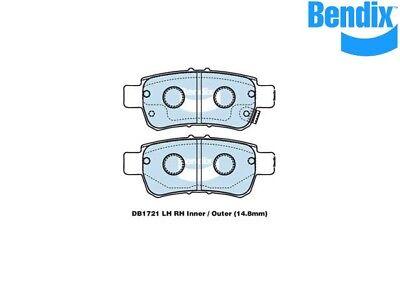 DB1847GCT 1 set x Bendix General CT Brake Pad
