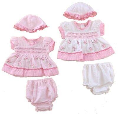 Bebé Niñas Vestido de patrón de flor Bragas Calcetines prematuro de 5//8 libras