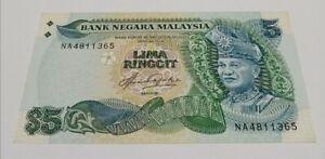 Malaysia 5th Series Taha RM5 NA