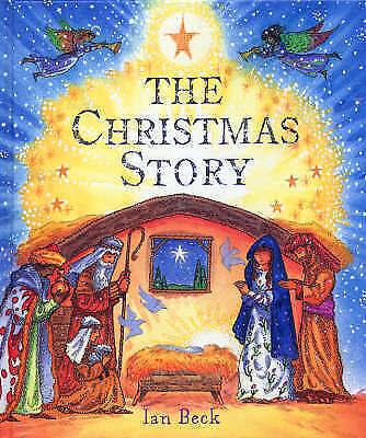 """VERY GOOD"" The Christmas Story, Beck, Ian, Book"
