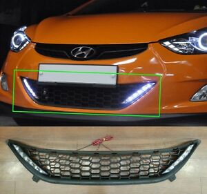 Led Drl Day Light And Grille Set For Hyundai 2011 2013