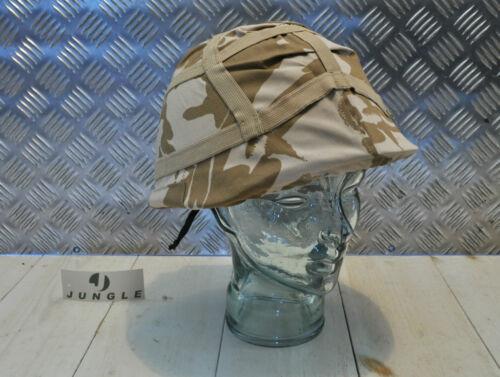 GS NEW x 2 MK6 Genuine British Desert Combat Helmet Cover Size: Outsize