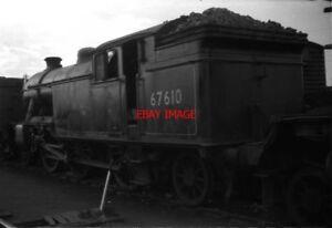 PHOTO  LNER GRESLEY V1 3MT 262T 67610 DALRY ROAD MPD SUMMER 1960 GRESLEY V1 3M - Tadley, United Kingdom - PHOTO  LNER GRESLEY V1 3MT 262T 67610 DALRY ROAD MPD SUMMER 1960 GRESLEY V1 3M - Tadley, United Kingdom
