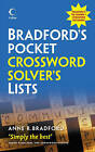 Collins Bradford's Pocket Crossword Solver's Lists by Anne R. Bradford (Paperback, 2010)