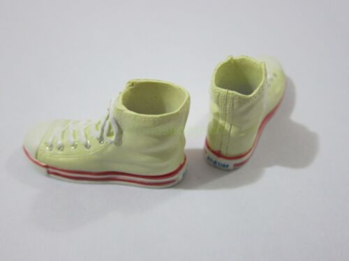 "1//6 Scale White Trainers Shoes for 12/"" Action figure Toys"
