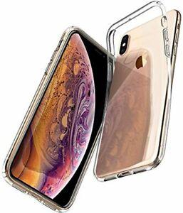 Spigen Coque iPhone XS, Coque iPhone X [Liquid Crystal] Souple, Légère, Ajuste