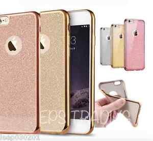 carcasa iphone x purpurina