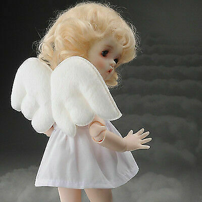 Dollmore BJD Article Size USD and MSD White Bonggug Cushion Wings