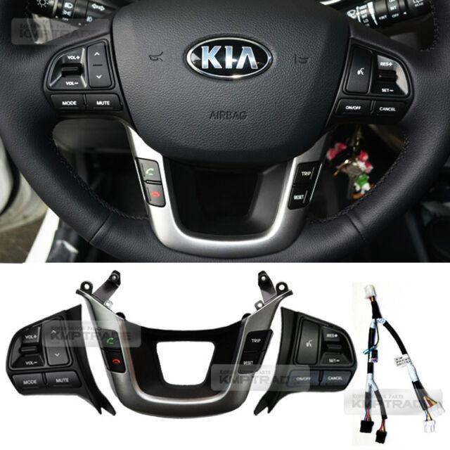 OEM Steering wheel Auto Cruise Control+Audio Remote Switch for KIA RIO Pride