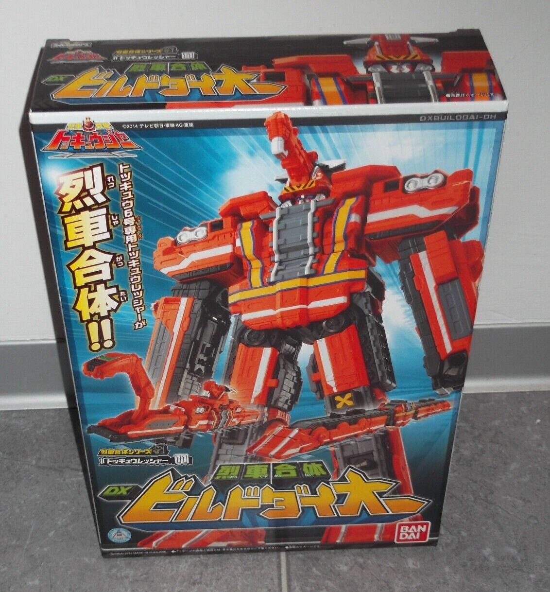 BeAI Dx Tokkyuger ToQger BUILD DAI-OH energia  Rangers Megazord Sentai  vanno a ruba