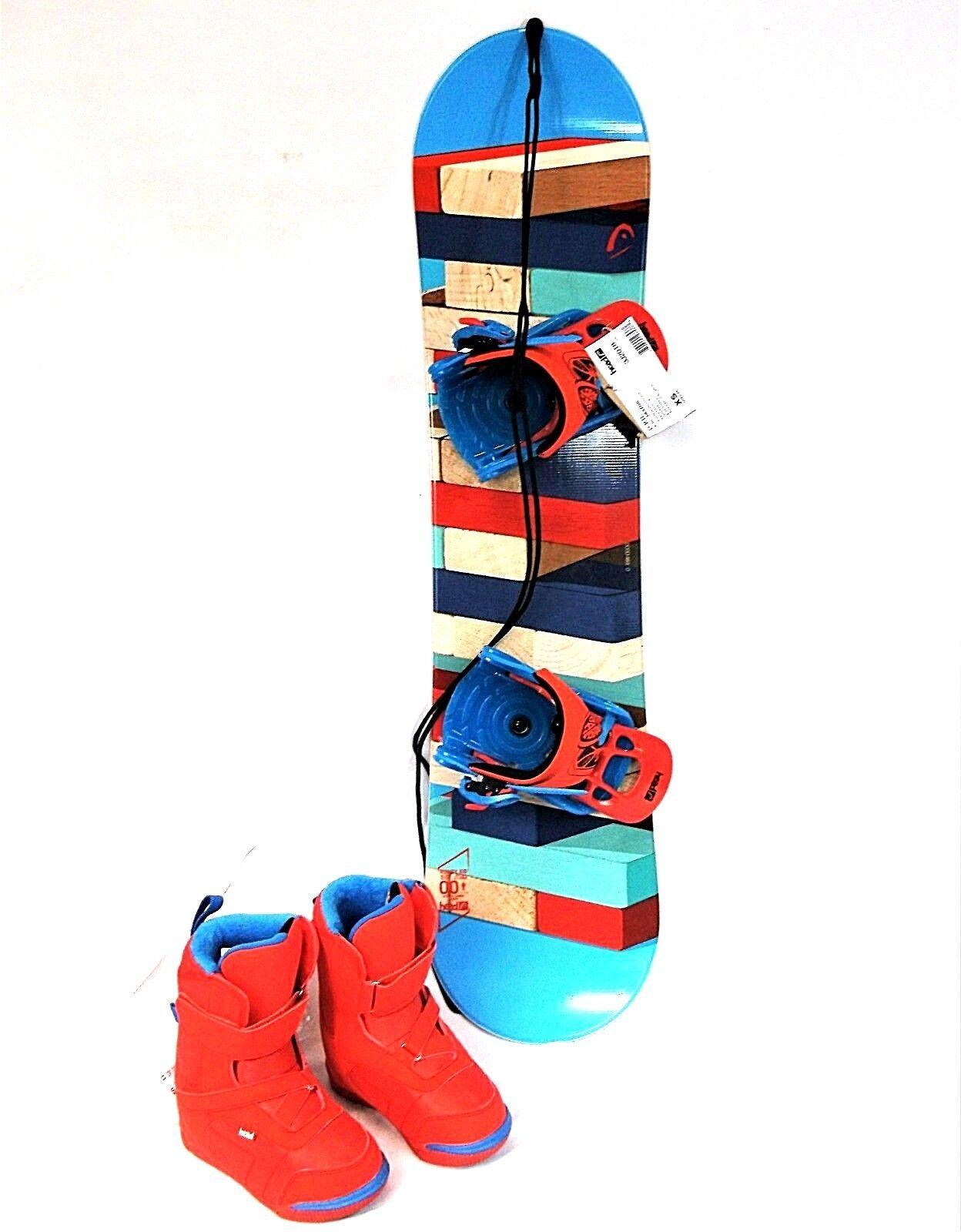 HEAD Rowdy Kind Snowboard Package 100cm Board, Bindingen &B laarzen (FITTD W INFO)