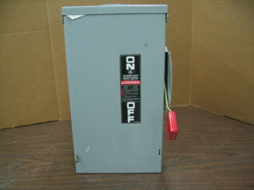NEW GE TH3222R 60A 240V 2-Pole Service Disconnect Safety Switch