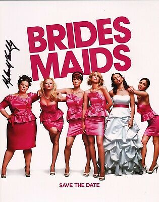 "Brides Maids"" 11x14 Photo B~ Agreeable To Taste ~~ Melissa Mccarthy Authentic Hand-signed ""megan Photographs"