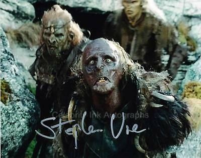 STEPHEN URE as Grishnakh - Lord Of The Rings GENUINE AUTOGRAPH UACC (R8834)
