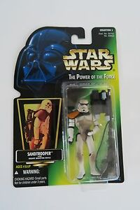 Star-Wars-Power-of-the-Force-Sand-trooper-Green-Collection-1-BRAND-NEW-Hasbro