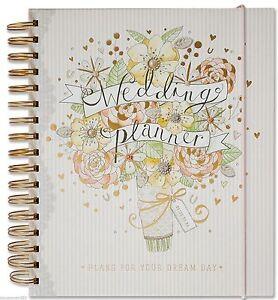 Frugal Deluxe Wedding Planner Book Diary Journal Organisateur-fiançailles Cadeau-afficher Le Titre D'origine