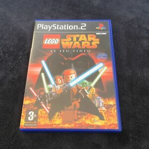 PS2 Lego Star Wars Le Jeu VidÈo FRA CD état neuf