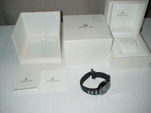 NEU-BATTERIE-LEER-Swarovski-Damen-Armbanduhr-Damenuhr-1049643