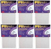 """3M PURPLE - BOX OF 6 - 14""""X25""""X1 - Ultra Allergen Filtrete Furnace Filter 870592"""