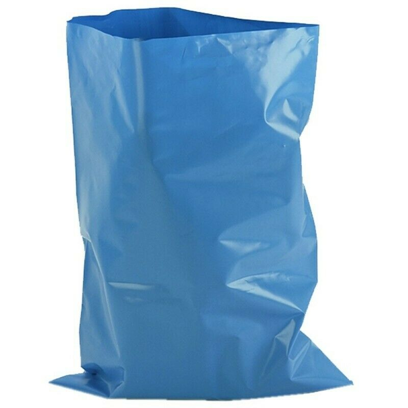6 Rubble Sacks Bags Strong Heavy Duty 40L Garden Waste Building Landscaping