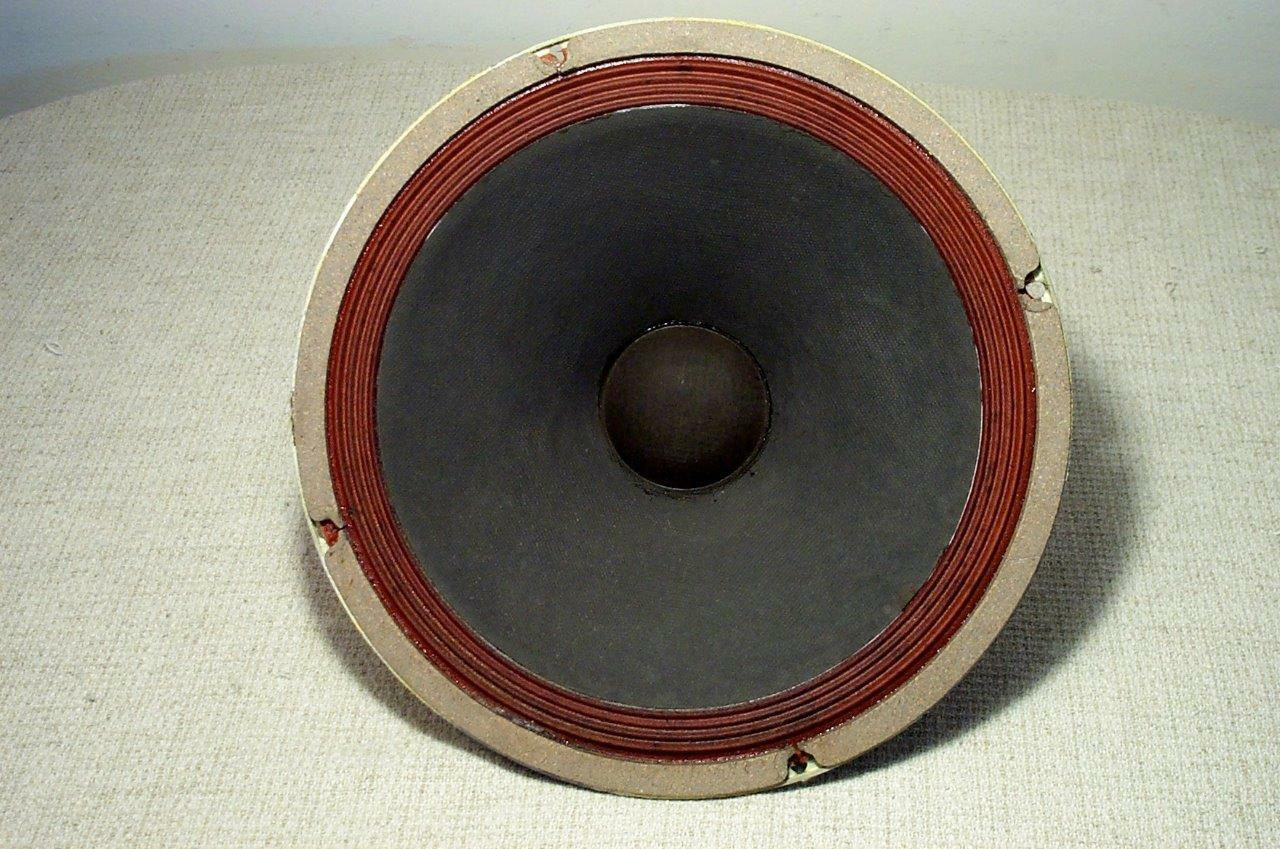 RARE GENERAL ELECTRIC 12  WOOFER EXTENED BASS XCLNT ALNICO 1960's SPEAKER TUBE
