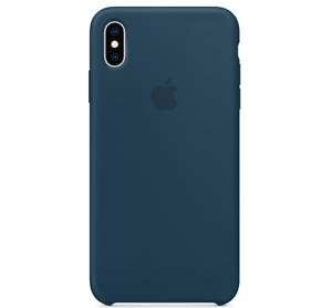 Echt-Original-Apple-iPhone-XS-Silikon-Huelle-Silicone-Case-Pazifikgruen