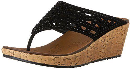 Skechers Cali Damenschuhe Beverlee Wedge Sandale- Select SZ/Farbe.