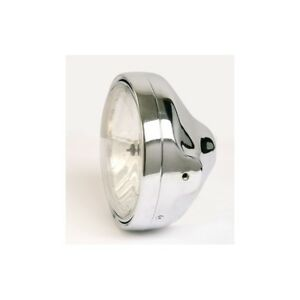 Phare-motorrad-verre-lisse-LTD-STYLE-CHROME-200MM