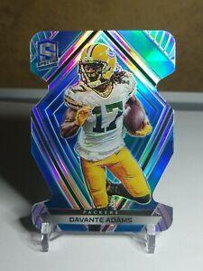 Davante Adams Spectra SP Silver/Blue Die-Cut 01/50!!! First Print💎🔥💎 Packers