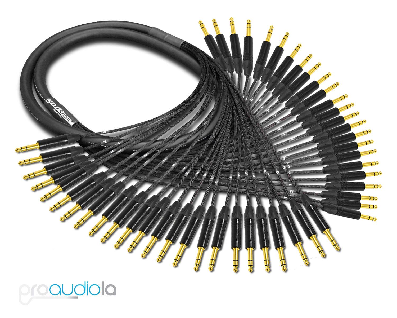 Premium Mogami 2936 24 Canale Serpente Neutrik oro 0.6cm Trs 1.5m M
