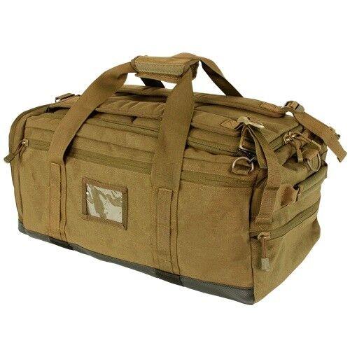 MILITARY LUGGAGE CARGO CONDOR CENTURION DUFFLE BAG DIVE BAG HEAVY DUTY DUFFEL