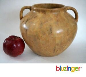 ZANESVILLE-STONEWARE-Large-Vulcan-Pottery-Vase-Ohio-Arts-amp-Crafts-Pottery