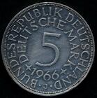 GERMANY FEDERAL REPUBLIC 5 Mark AG 1966 J