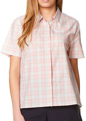 Craghoppers Natalie Short Sleeve Womens Check Shirt - Pink