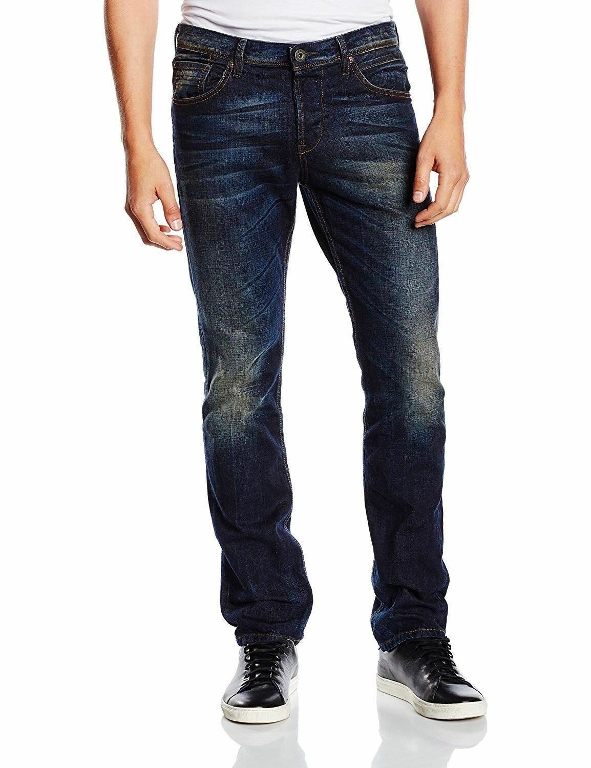 Tom Tailor Denim Jeans Uomo, Aedan, Aedan, Aedan, blu nero denim, w31 l34, Blu scuro 929b5f