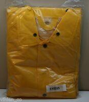 Boss Protective Clothing Yellow Size Xxxxxl 5xl Poly Vinyl Chloride Garment