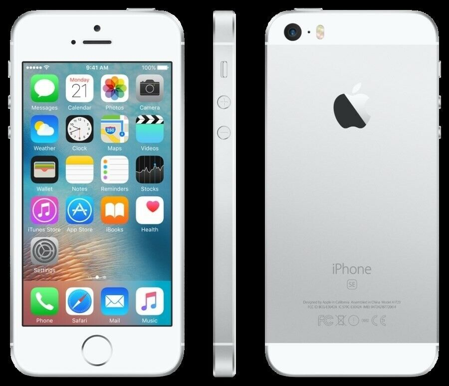 iPhone SE, GB 32, hvid