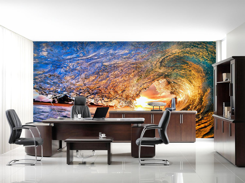 3D Schöne Wellen 743 Tapete Wandgemälde Tapete Tapeten Bild Familie DE Summer | Genialität  | Gewinnen Sie das Lob der Kunden  | New Products