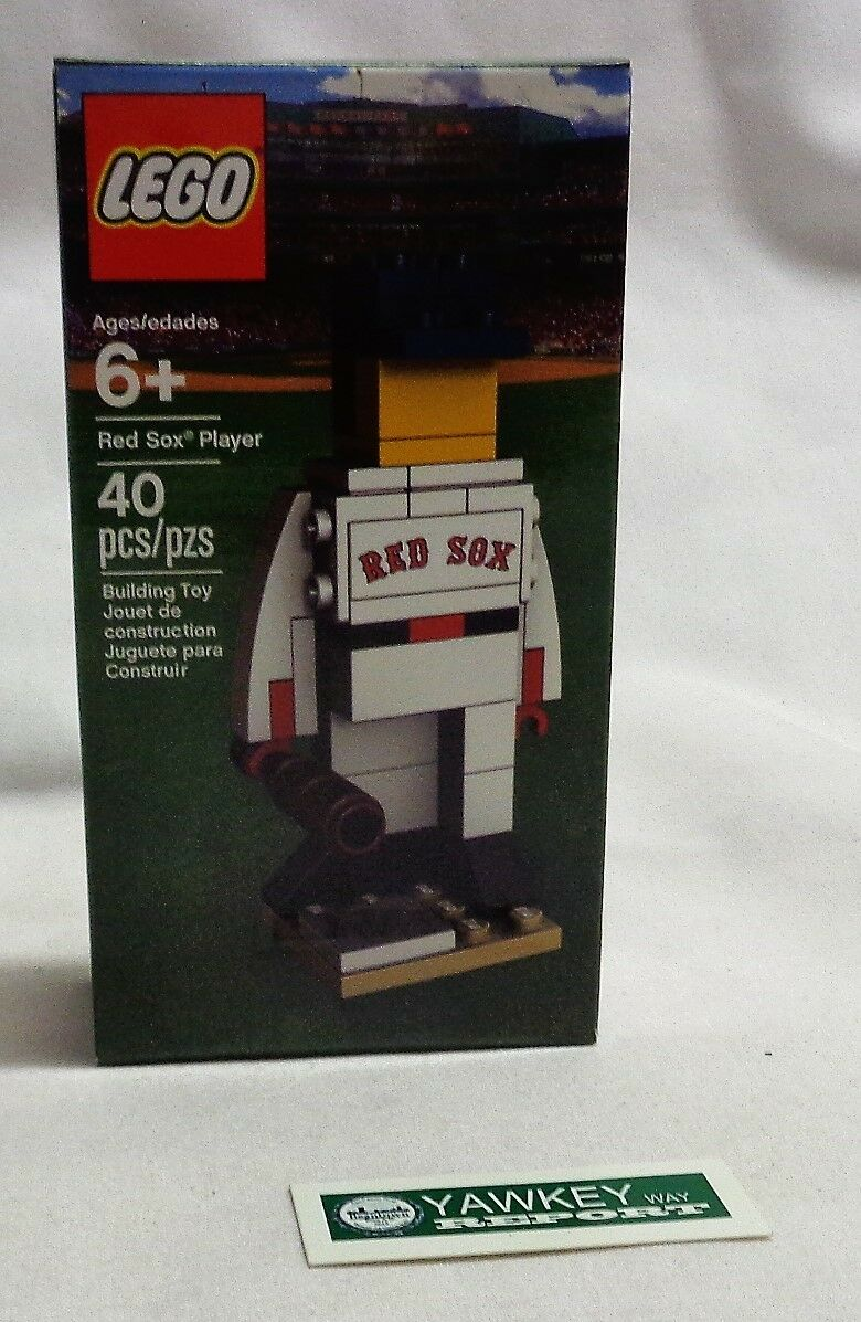 Rare Official Boston Red Sox Lego Baseball Figure 40 pieces Sealed Boxed