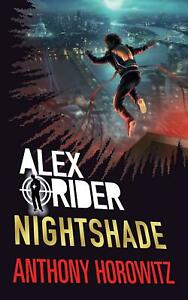 Signed-Book-Nightshade-by-Anthony-Horowitz-First-Edition-1st-Print