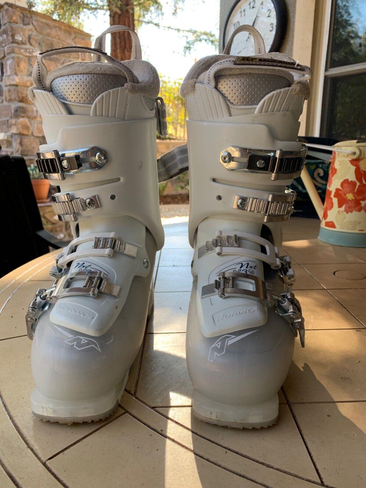 Woman's Nordica Ski Boots, size 23.5, 275 mm