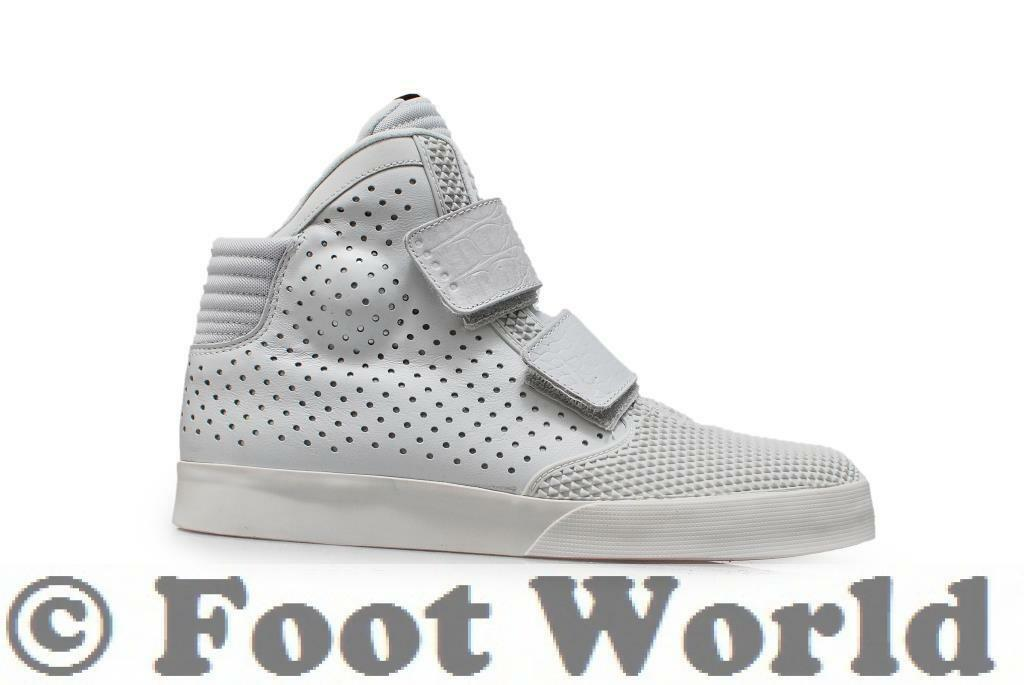 Mens Nike Flystepper 2K3 Premium  - 677473 002 - Pure platinum University Red Tr