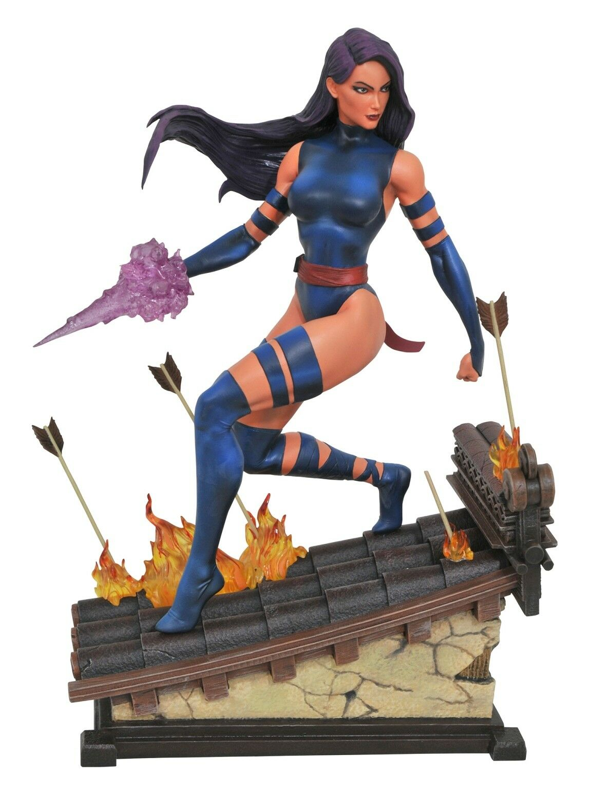 Diamond Select  Marvel Premier Collection Psylocke Statue