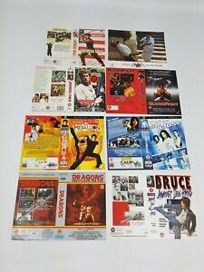 Grande-Caja-VHS-Video-Fundas-sin-Usar-Muestra-Promo-Paquete-Lote-Asia-Kung-Fu-3