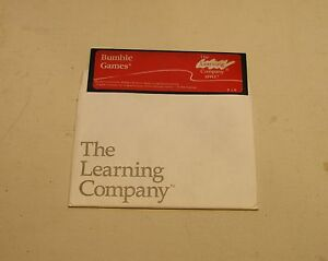 Bumble-Games-by-Learning-Company-for-Apple-II-Plus-Apple-IIe-IIc-IIGS