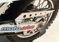 MOTO ARBO Suzuki DRZ 400 S/SM Polished Stainless Steel Chain Guard Super Moto