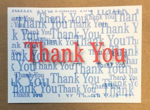 10x Thank You Card