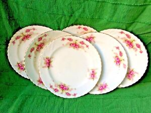 Early-20th-Century-Samuel-Radford-Fenton-porcelain-6-dessert-sandwich-plates
